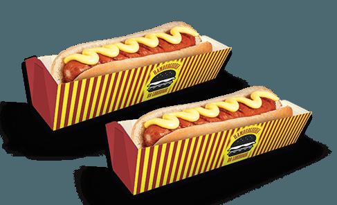 Embalagem para Cachorro Quente/Hot Dog